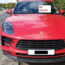 Porsche driver fined over illegal 'online numberplate'