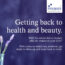 Getting back to Health & Beauty